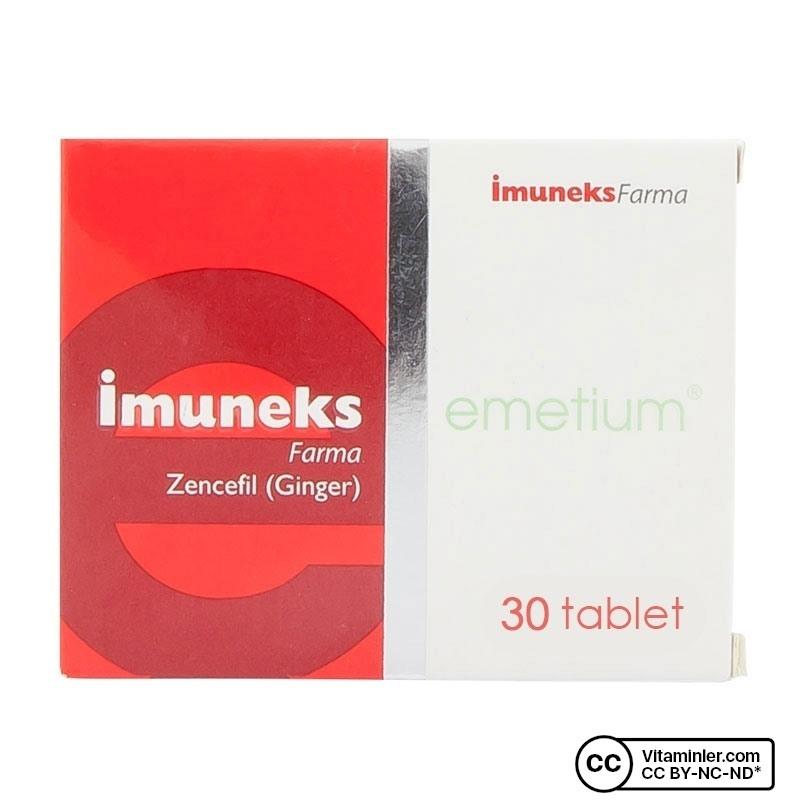 Imuneks Emetium 30 Tablet