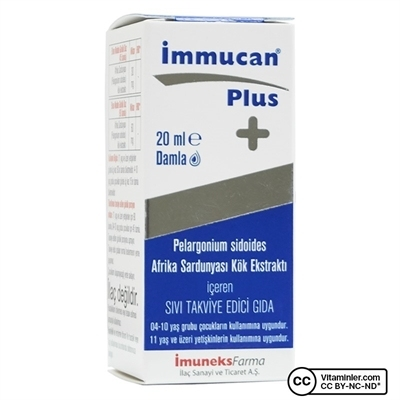 Imuneks Immucan Plus 20 mL Damla