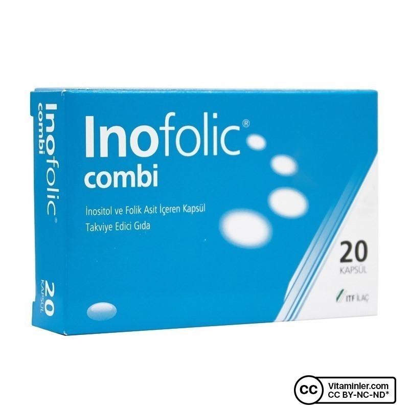 Inofolic Combi 20 Kapsül