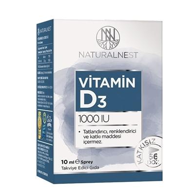 Natural Nest NaturalNest Vitamin D3 1000 IU mL Sprey