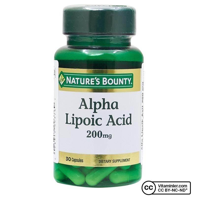 Nature's Bounty Alpha Lipoic Acid 200 Mg 30 Kapsul