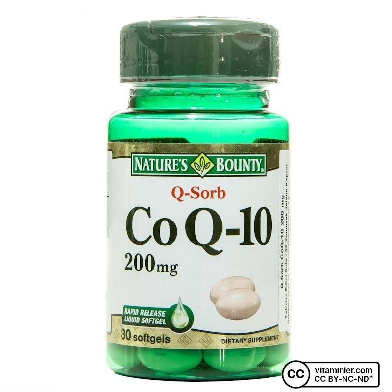 Nature's Bounty CoQ-10 Plus (Q-Sorb) 200 Mg 30 Kapsül