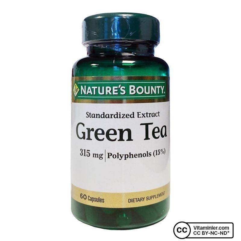 Nature's Bounty Green Tea 315 Mg 60 Kapsül