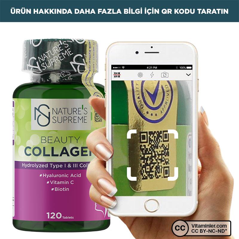 Nature's Supreme Beauty Collagen 120 Tablet