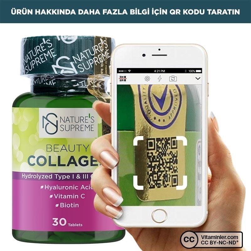 Nature's Supreme Beauty Collagen 30 Tablet