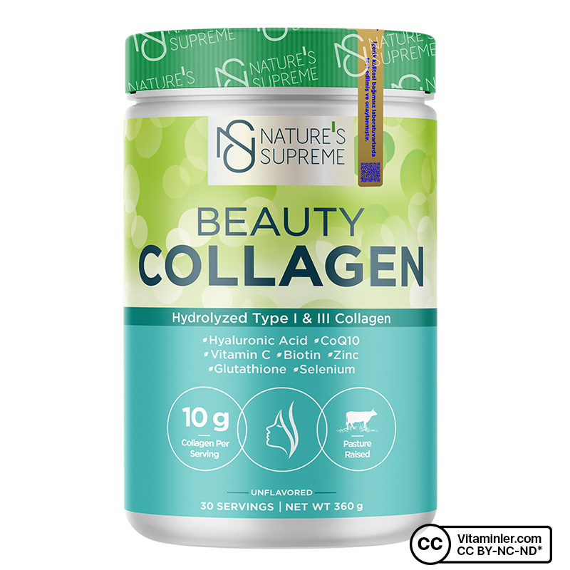 Nature's Supreme Beauty Collagen Powder 360 Gr Aromasız