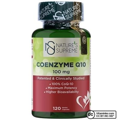Nature\'s Supreme Coenzyme Q10 100 Mg 120 Kapsül