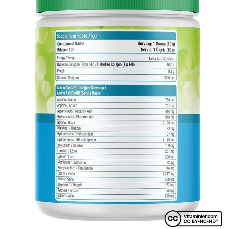 Nature's Supreme Collagen Peptides Powder 300 Gr