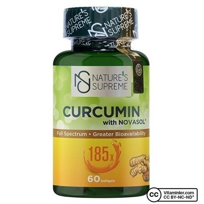 Nature\'s Supreme Curcumin 60 Yumuşak Kapsül