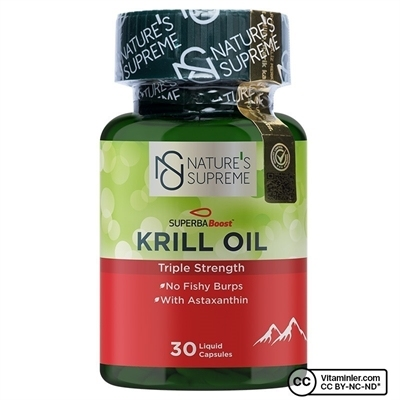 Nature's Supreme Krill Oil 30 Kapsül