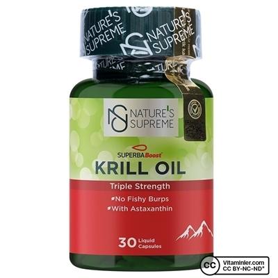 Nature\'s Supreme Krill Oil 30 Kapsül