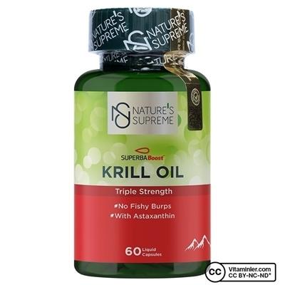 Nature\'s Supreme Krill Oil 60 Kapsül