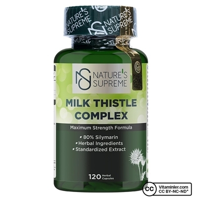 Nature\'s Supreme Milk Thistle Complex 120 Kapsül