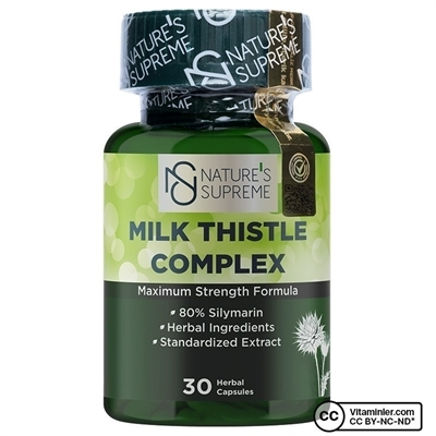 Nature\'s Supreme Milk Thistle Complex 30 Kapsül