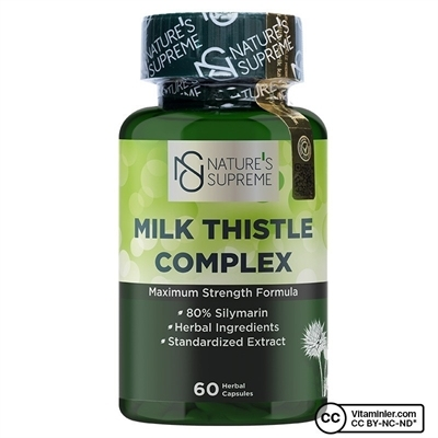 Nature\'s Supreme Milk Thistle Complex 60 Kapsül