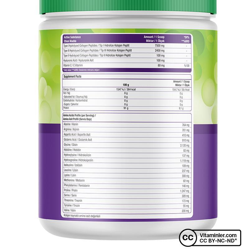 Nature's Supreme Multi Collagen Powder 300 Gr Aromasız