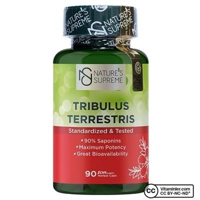 Nature\'s Supreme Tribulus Terrestris 90 Kapsül