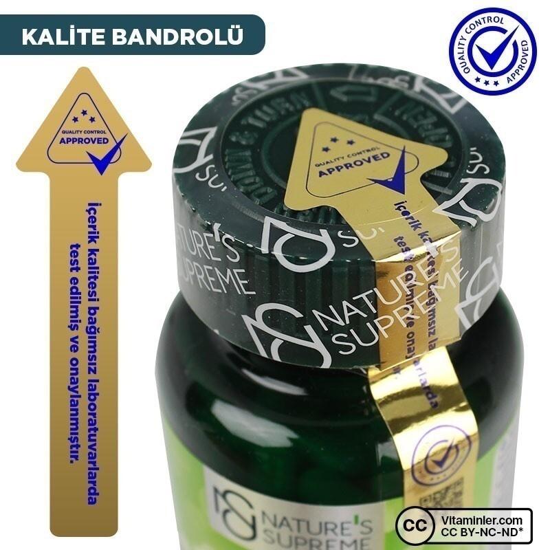 Nature's Supreme Vitamin K2 100 Mcg 120 Kapsül