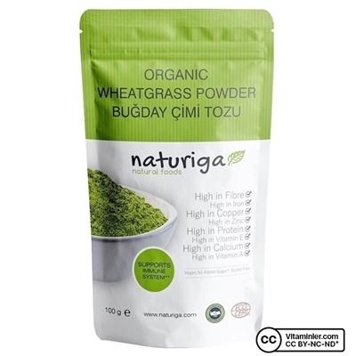 Naturiga Organik Buğday Çimi Tozu 100 Gr