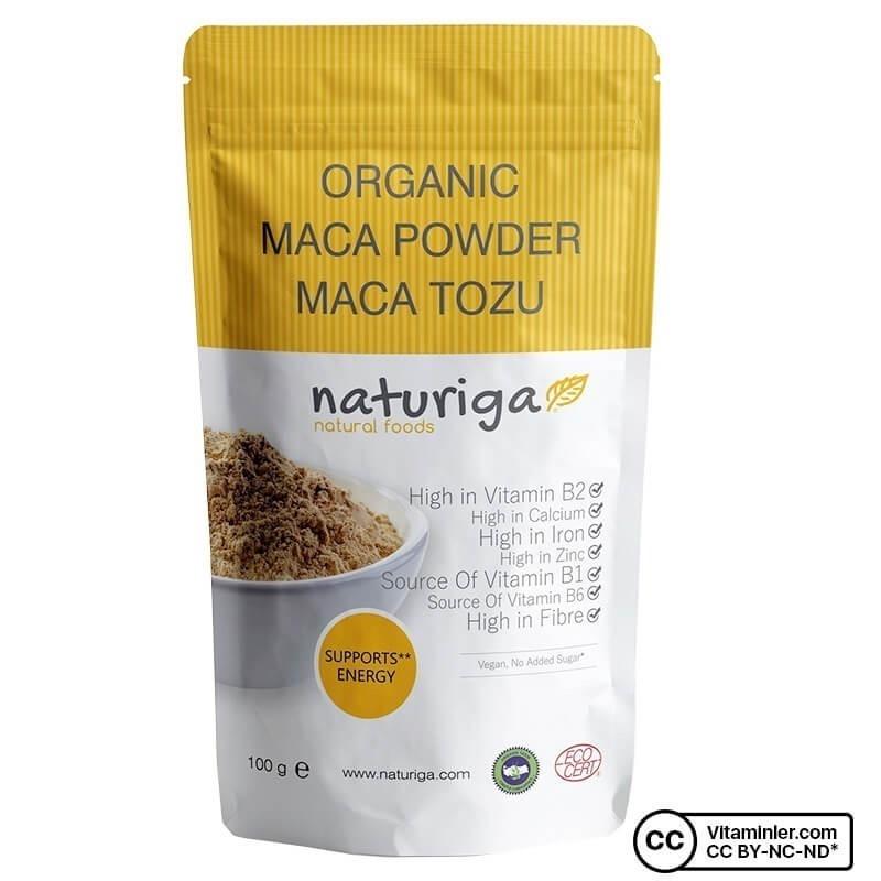 Naturiga Organik Maca Tozu 100 Gr