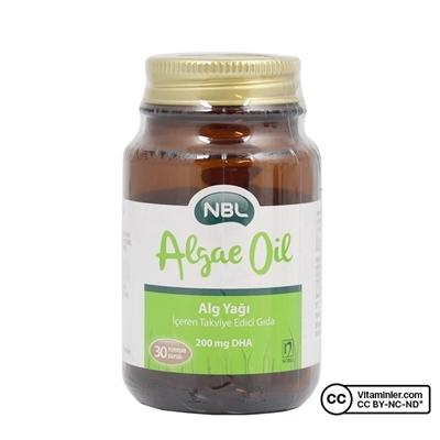 Nobel NBL Algae Oil - Yağı 30 Kapsül