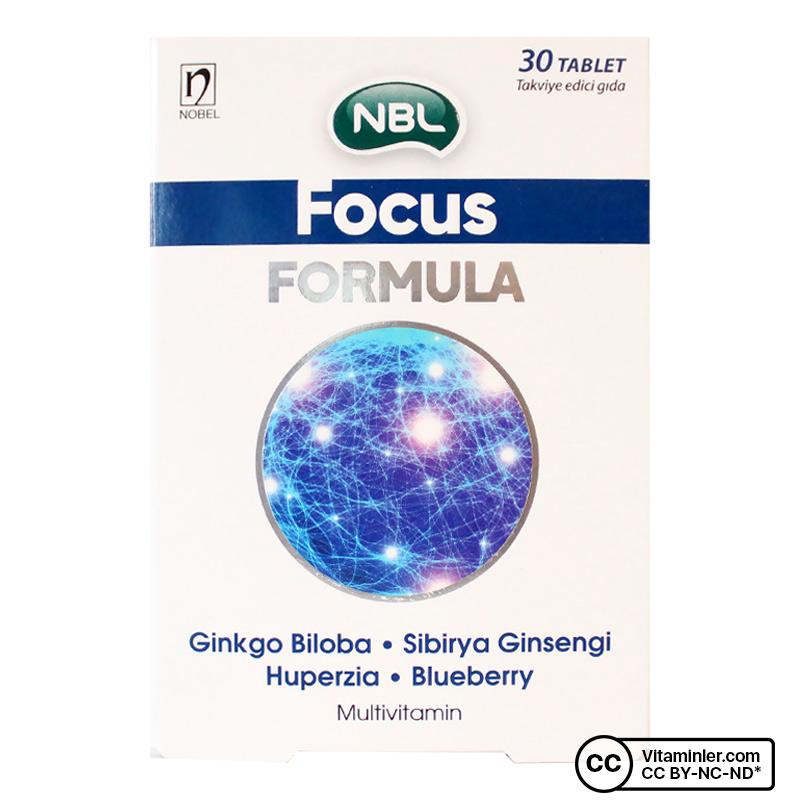 NBL Focus Formula 30 Tablet