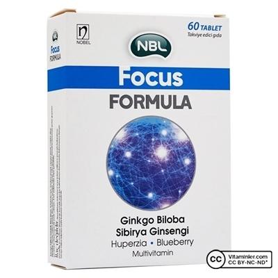 Nobel NBL Focus Formula 60 Tablet