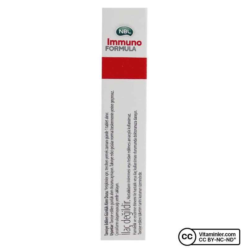 NBL Immuno Formula 30 Tablet