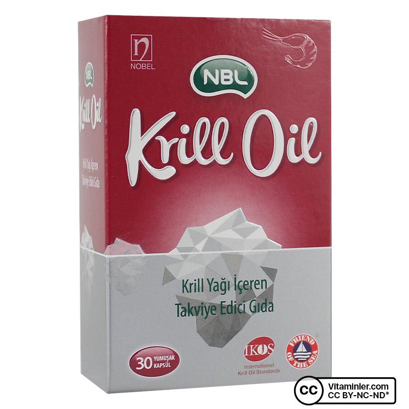 NBL Krill Oil 30 Kapsül