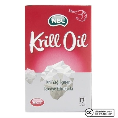 Nobel NBL Krill Oil 30 Kapsül