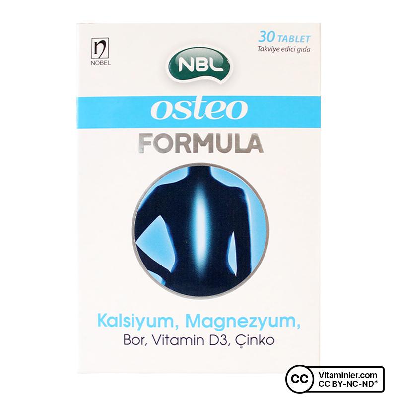 NBL Osteo Formula 30 Tablet