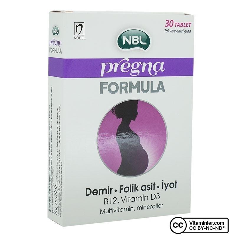 NBL Pregna Formula 30 Tablet