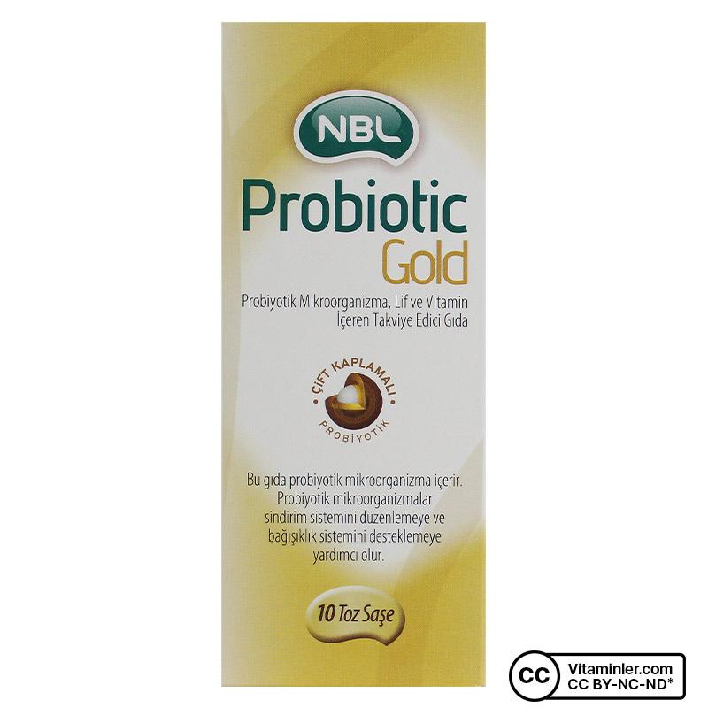 NBL Probiotic GOLD 10 Saşe