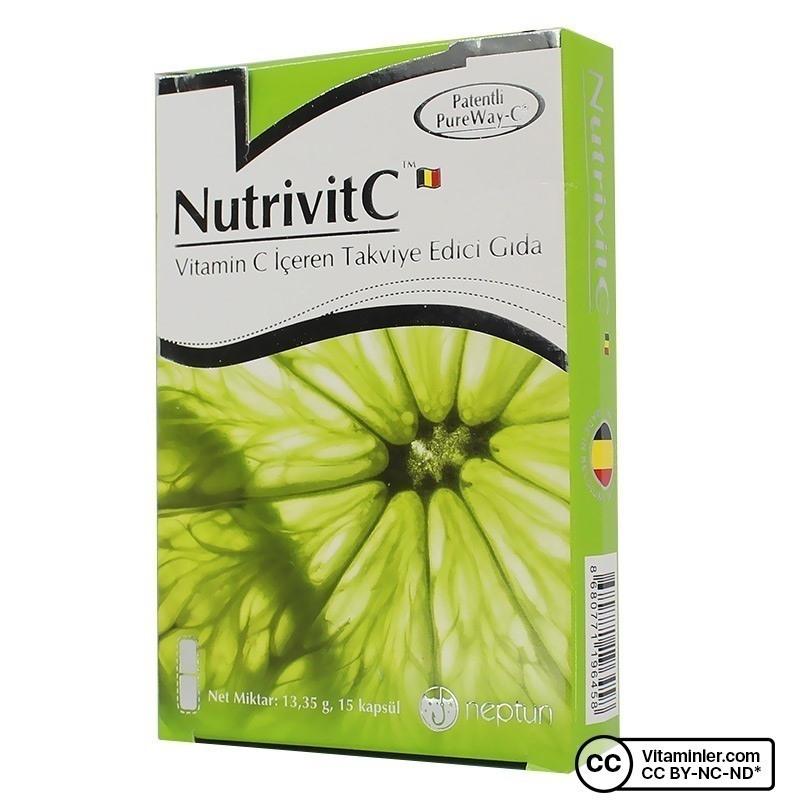 Neptun NutrivitC C Vitamini 15 Kapsül
