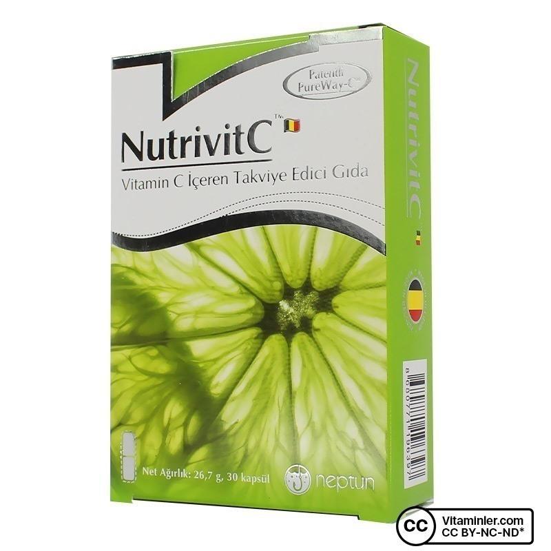 Neptun NutrivitC C Vitamini 30 Kapsül