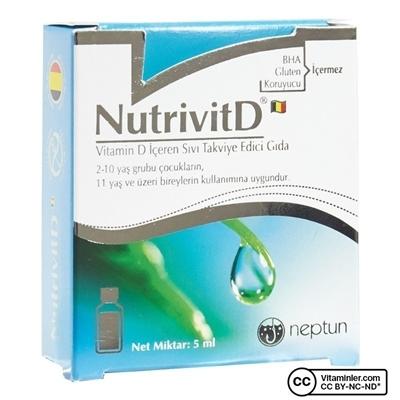 Neptune NutrivitD Vitamin 5 mL