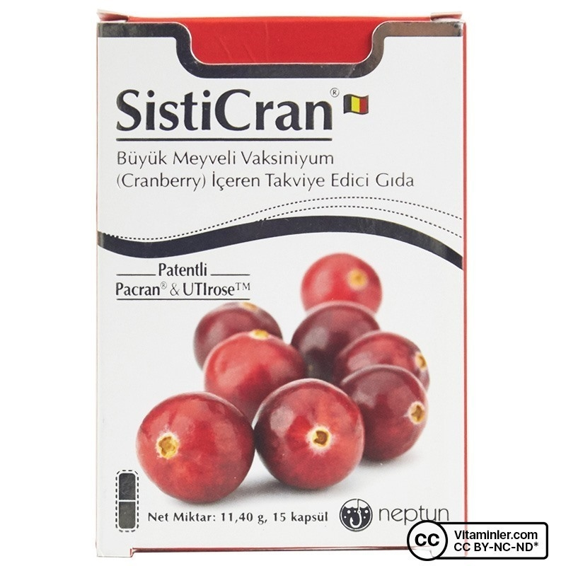 Neptun SistiCran Cranberry 15 Kapsül