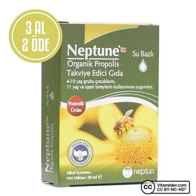 Neptune Organik Su Bazlı Propolis 20 Ml 3 Al Öde