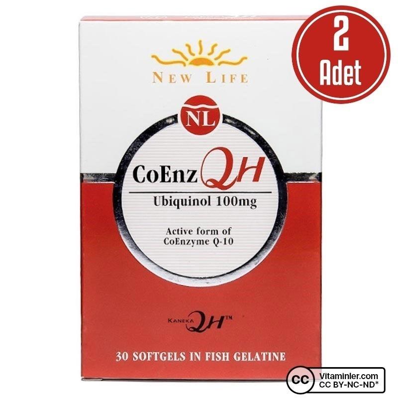 New Life CoEnz QH 30 Kapsül 2 Adet