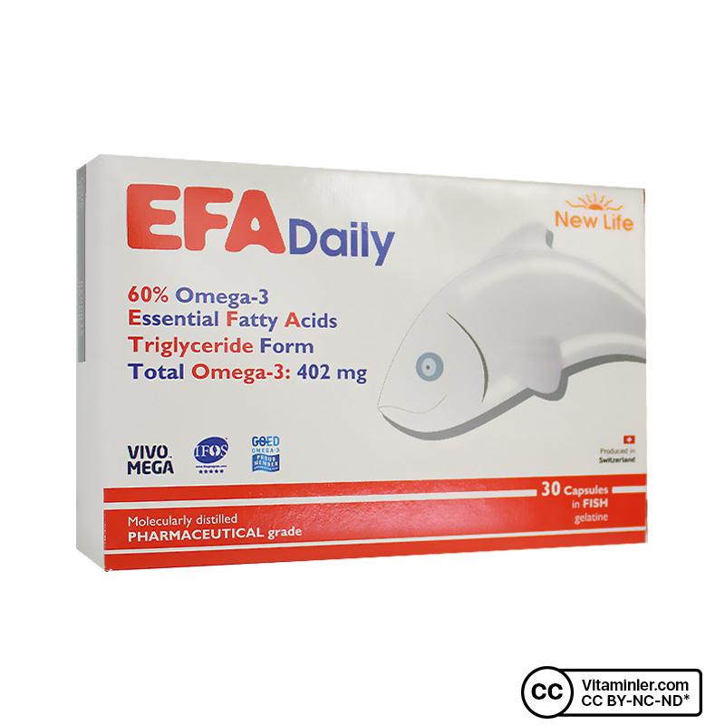 New Life Efa Daily 30 Kapsül