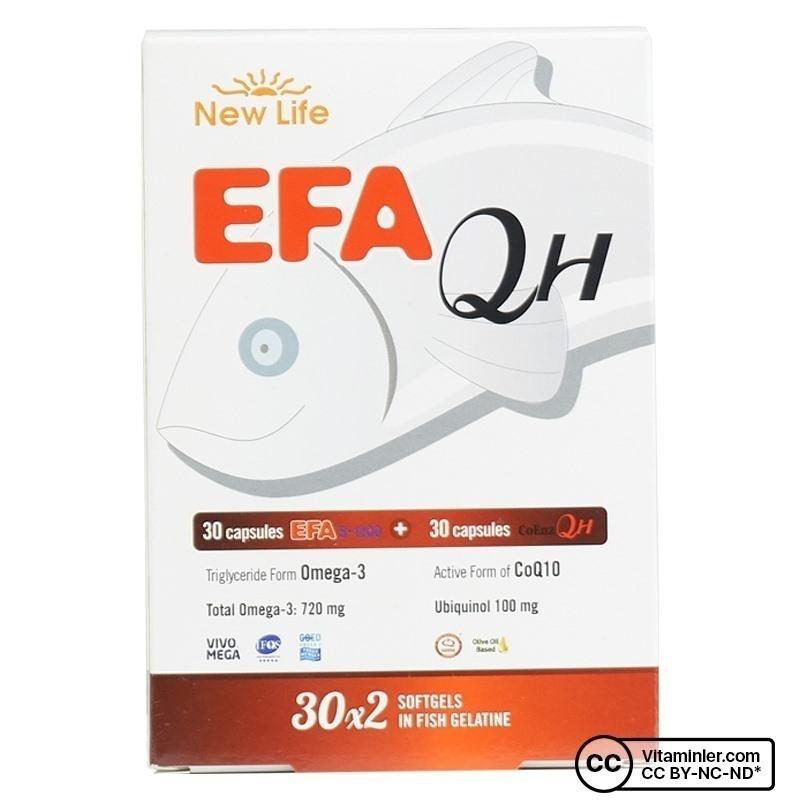 New Life EFA QH 30 x 2 Kapsül