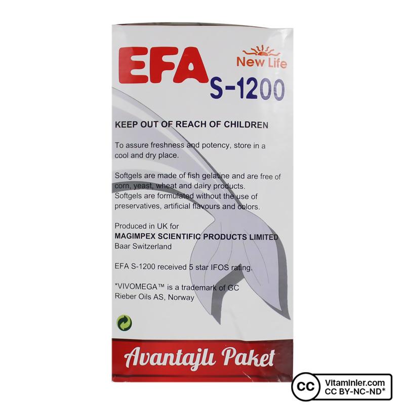 New Life Efa S-1200 90 Kapsül