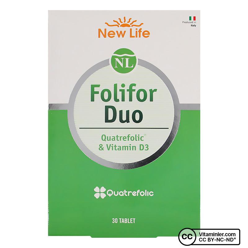 New Life Folifor Duo 30 Tablet