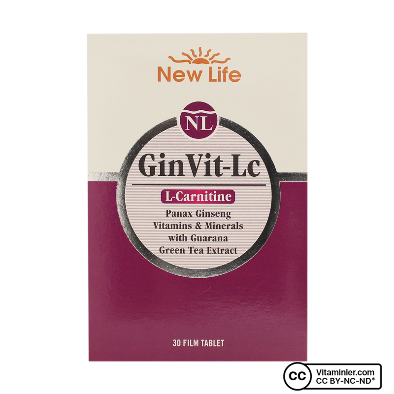 New Life GinVit-LC 30 Tablet