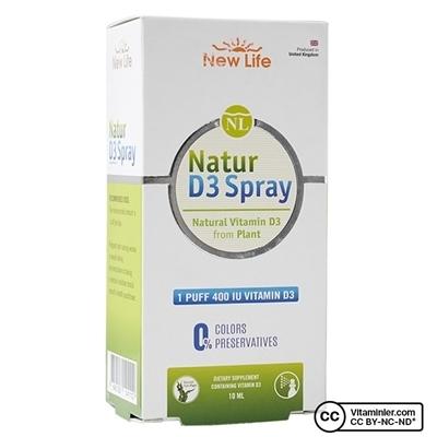 New Life Natur Spray D3 400 IU 10 mL