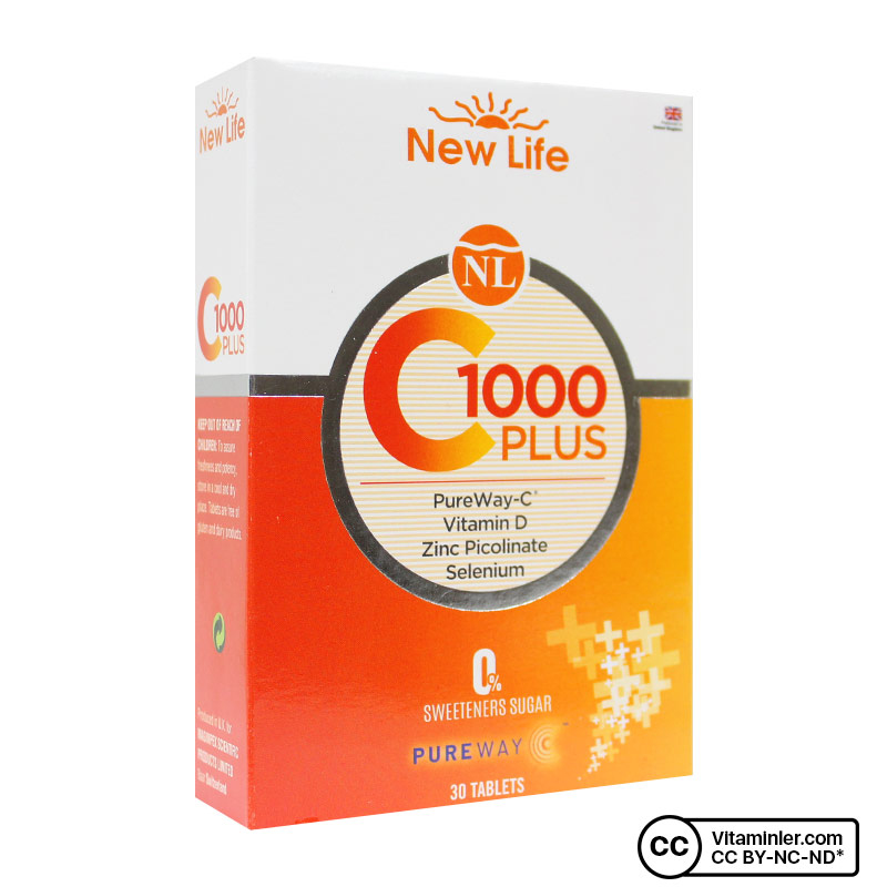 Newlife C-1000 Plus C Vitamini 30 Tablet
