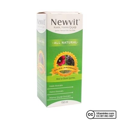 Newvit Kekik Hatmi Çiçeği 150 mL