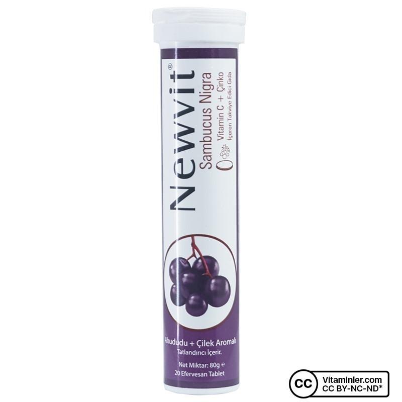 Newvit Sambucus Nigra 20 Efervesan Tablet
