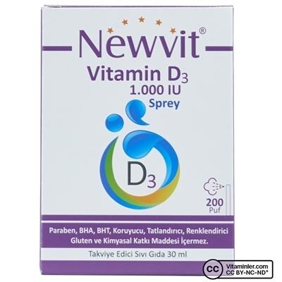 Newvit Vitamin D3 1000 IU 30 mL