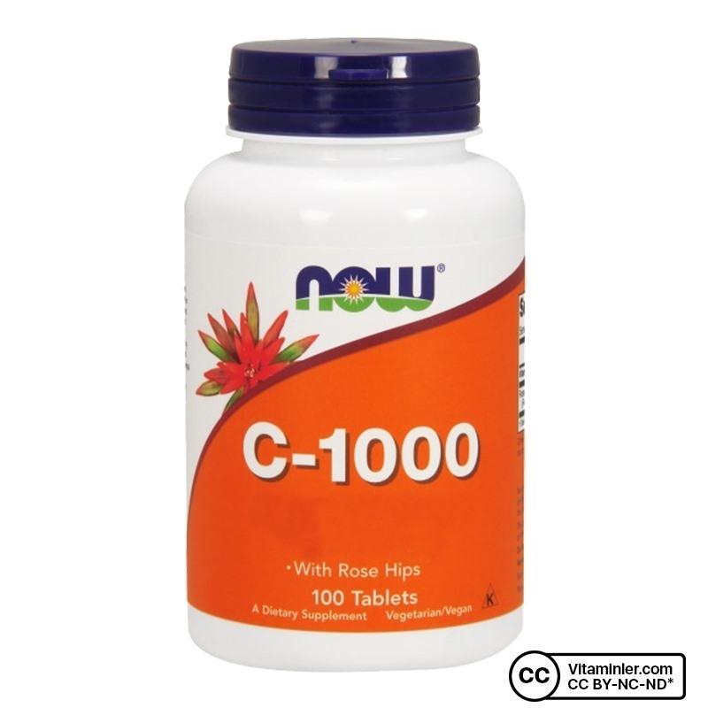Now C-1000 Vitamin C 100 Tablet
